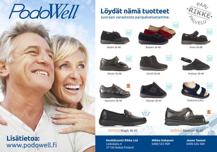 Paripalvelu - PodoWell